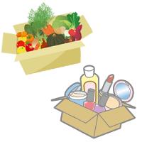 宅配してもらえる有機野菜やコスメ